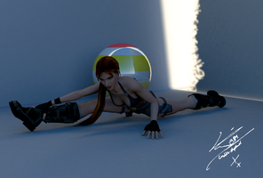 180 Degrees, Lara Croft by RinoTheBouncer