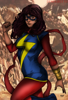 Ms. Marvel by DENDEROTTO