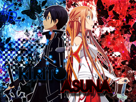 Wallpaper Kirito Y Asuna by Kerax99