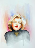 Marilyn Monroe by AirelavArt