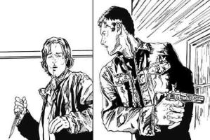 Sam and Dean Corner Inked by semie