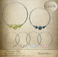 Scrapbooking - Beads n Wire 1 by shelldevil