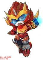 Collab: Chibi Rodimus by MZ15