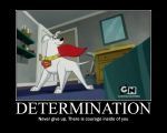 Motivational Poster: Determination by PereMarquette1225