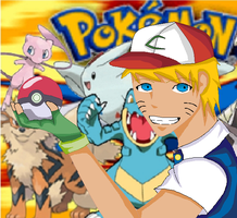 Pokemon trainer - Naruto by amb33r619