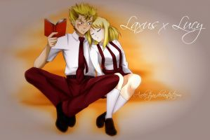 Request:Laxus x Lusy by Aneko-tyan