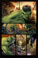 Hulk - The end -pg24 by Ivan-NES