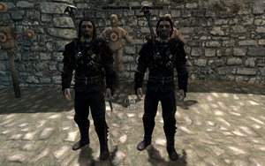 Farkas 'n Vilkas in Master Thieves Guild Armour by Mediziner
