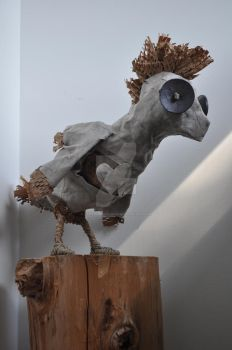 'Paul', the Fabric Cockatoo by FarTooManyIdeas
