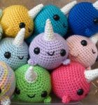 Big Narwhal Pile by syppahscutecreations