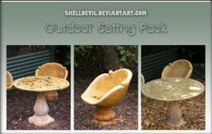 Outdoor Setting Pack 1 by shelldevil