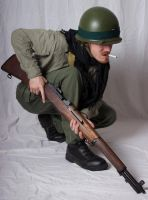 Unknown Soldier (Crouch) 02 by Null-Entity
