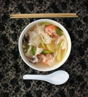 Sujebi/Korean Hand Torn Noodle Soup by sasQuat-ch