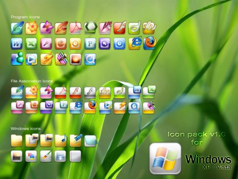 Windows Icons V1 by SaviourMachine