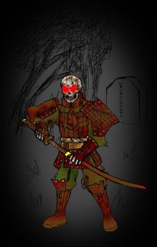 Samurai of the Damn by NihuAndEdwick