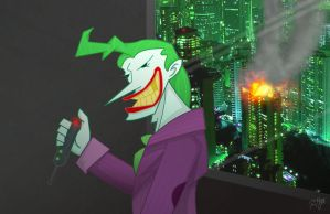 The Joker by R3dF0x