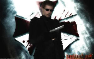 Albert  Wesker wallpaper by WolfShadow14081990