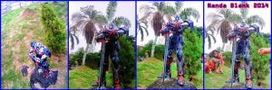 OPTIMUS PRIME AOE  PAPERCRAFT COMPLETE by nandablank