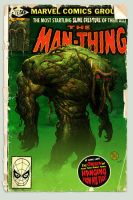 Man-Thing Comic by MattKaufenberg