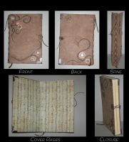 Steam Punk Hardbound Journal by Craftigurumi
