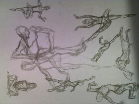 Figure Sketches 1 by G1artist