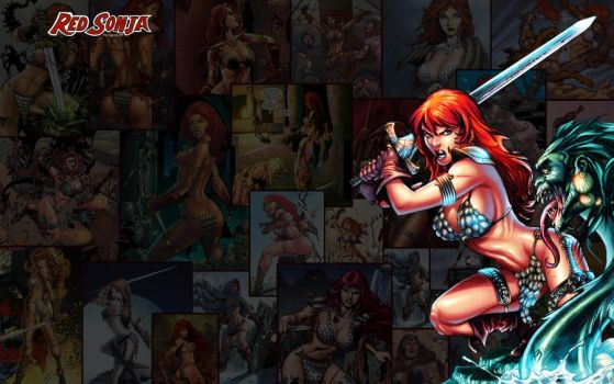 Red Sonja Wallpaper High Res 01 by squint583