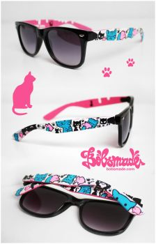 Cats n Pigs sunglasses by Bobsmade