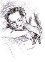MorMor. Pencil sketch by Brown-mouse55