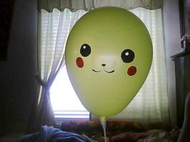 Pikachu Balloon by Cooliotha