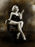 Marilyn by chyhy