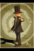 Professor Layton by MickyFirebird