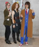 River Song cosplay - Meeting 10 and 11 by ArwendeLuhtiene