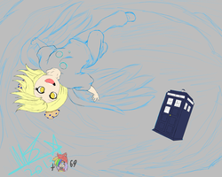 Derpy  And The Tardis- WIP collab by Jelly-Cupcake