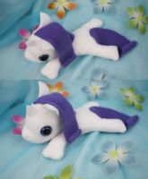 Rarity Filly Plush by bluepaws21
