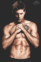 Dean Winchester Shirtless by Marisquerade