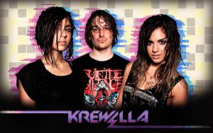 Krewella wallpaper by Cak95