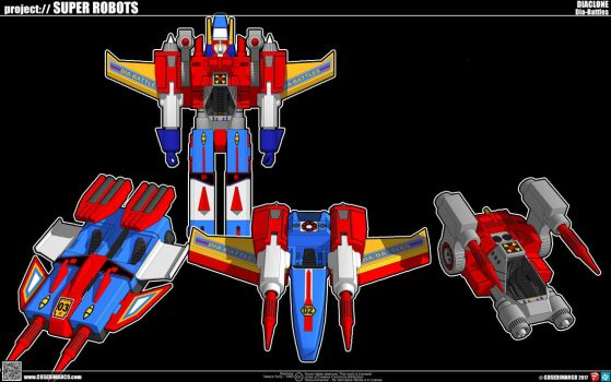 Dia-Battles  (Diaclone 1980) by cosedimarco