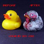 Rot Duck Zombie compare by Undead-Art