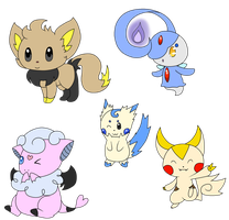 Pokemon Hybrid Adoptales 3 ONE LEFT by Aven-Mochi