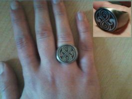 Doctor Who - Seal of Rassilon Signet Ring by DoctorWhoOne