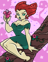 POISON IVY the batman style by AnyaUribe