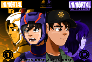 Immortal Series 1-2 Covers 2.0 by Aileen-Rose