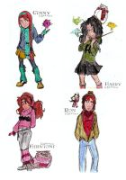 The A.B.E. HP Gang by SlyGoddess