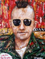 Travis Bickle by amoxes