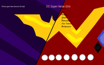 Dc Super Heroe Girls template by LordVaderNihilus