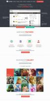 FlatWeb - One Page Multipurpose Business Template by prestigedesign