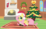 A Merry Hearth's Warming from Fluttershy by Doctor-G