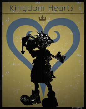 Kingdom Hearts Poster: Sora by Mysitc-Mage