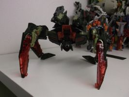 Mindwipe Custom Transformer ''SPIDER MODE'' by forever-at-peace