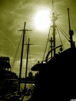 ghost ships by CiRcUsSpiDeR